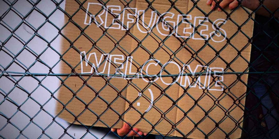 Die ersten Studenten der Flüchtlingswelle