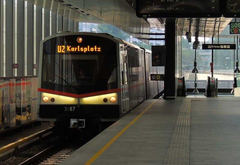 Ubahn Wien: Mit den Öffis unterwegs