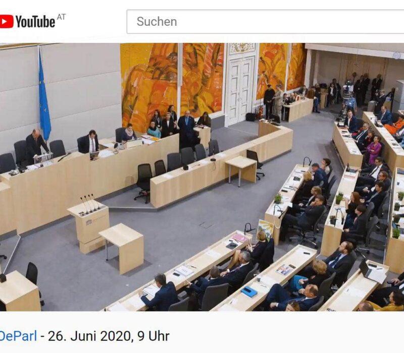 Das Parlament in Wien kann auch online besucht werden.