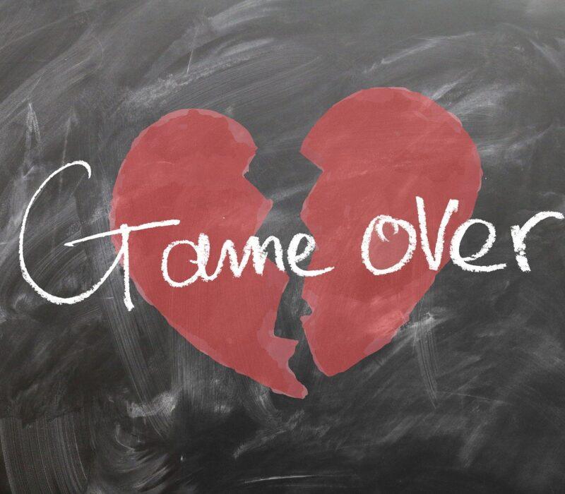 Gebrochenes Herz - Game Over