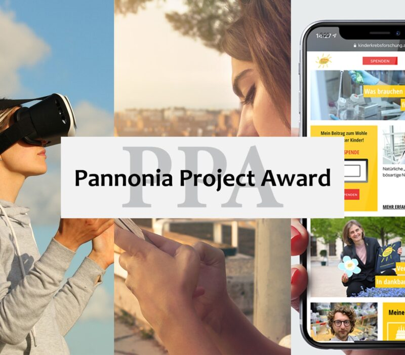Beispielbilder der Bachelor-Nominierungen für den Pannonia Project Award 2021