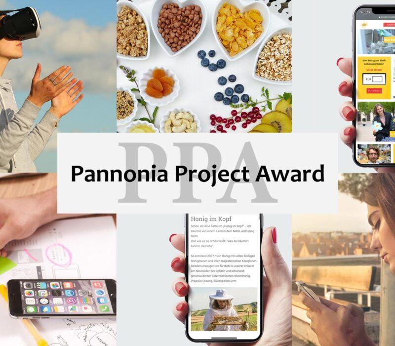 Beispielbilder der Nominierungen für den Pannonia Project Award 2021